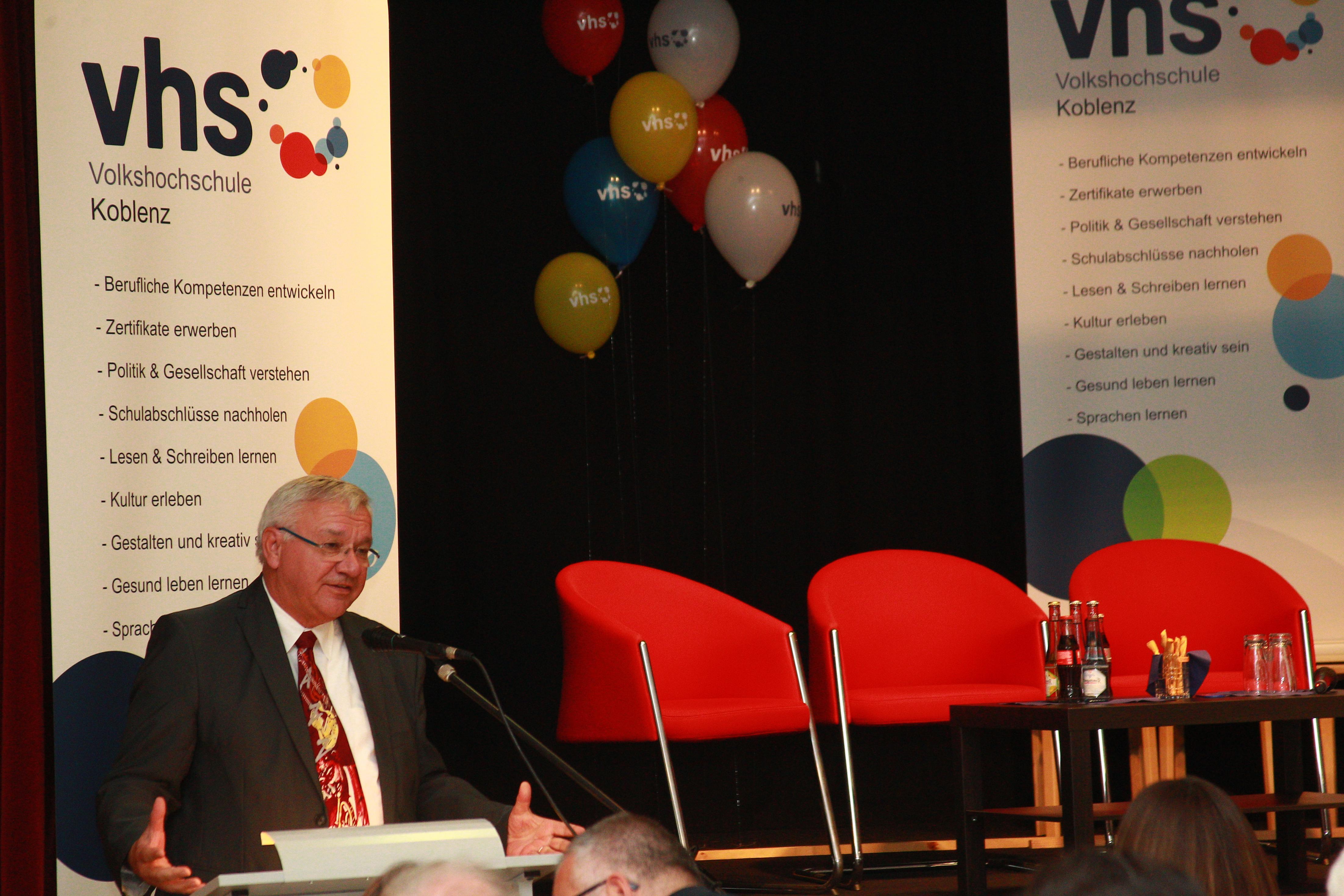 70 jähriges Jubiläum der Volkshochschule   vhs Koblenz